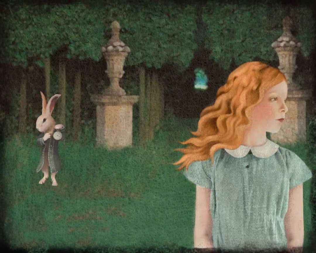 超现实的、空灵的女性形象插图69