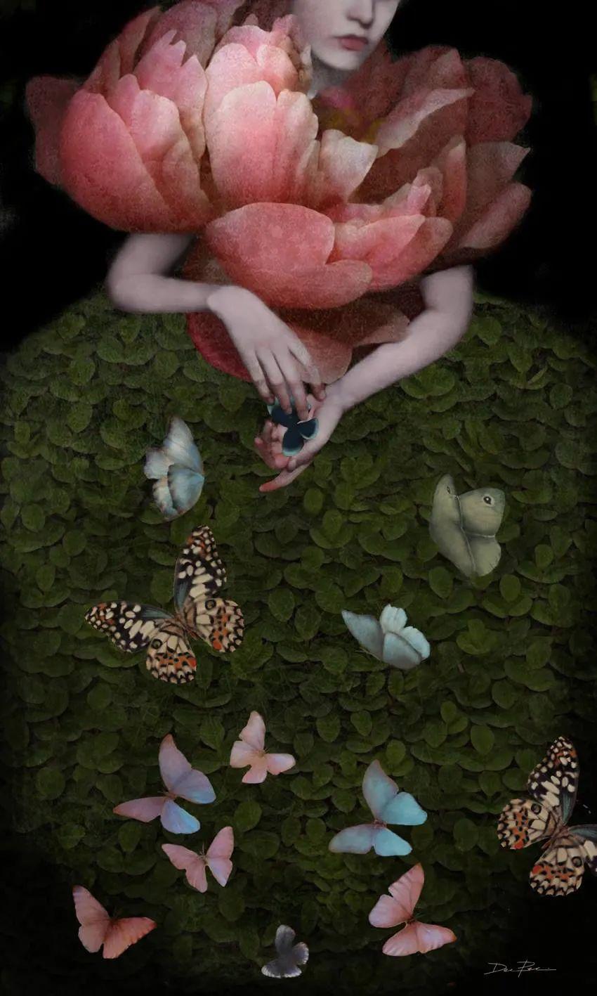 超现实的、空灵的女性形象插图75