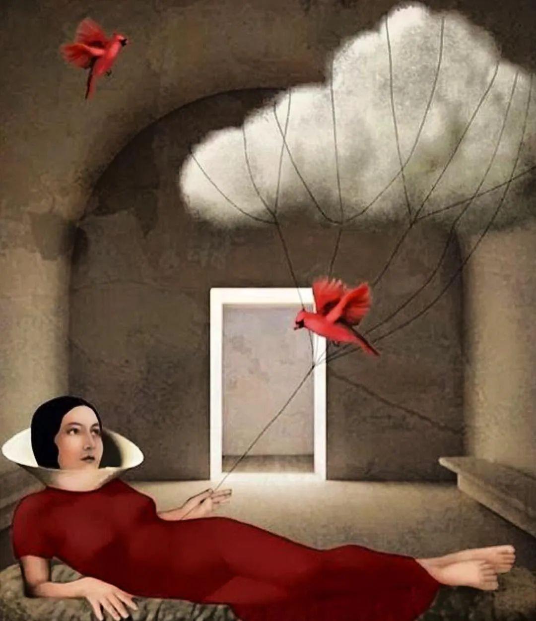 超现实的、空灵的女性形象插图81