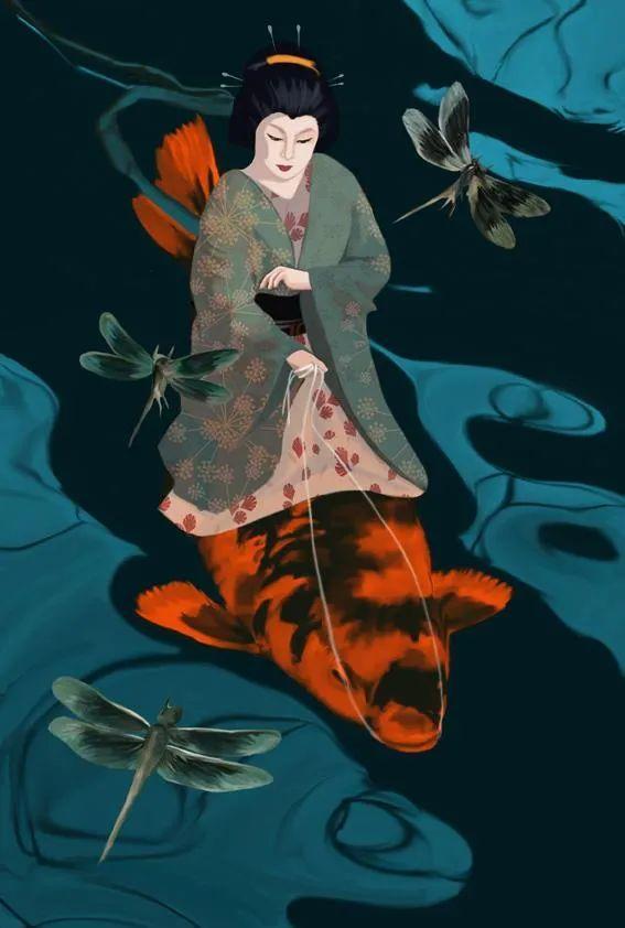 超现实的、空灵的女性形象插图87