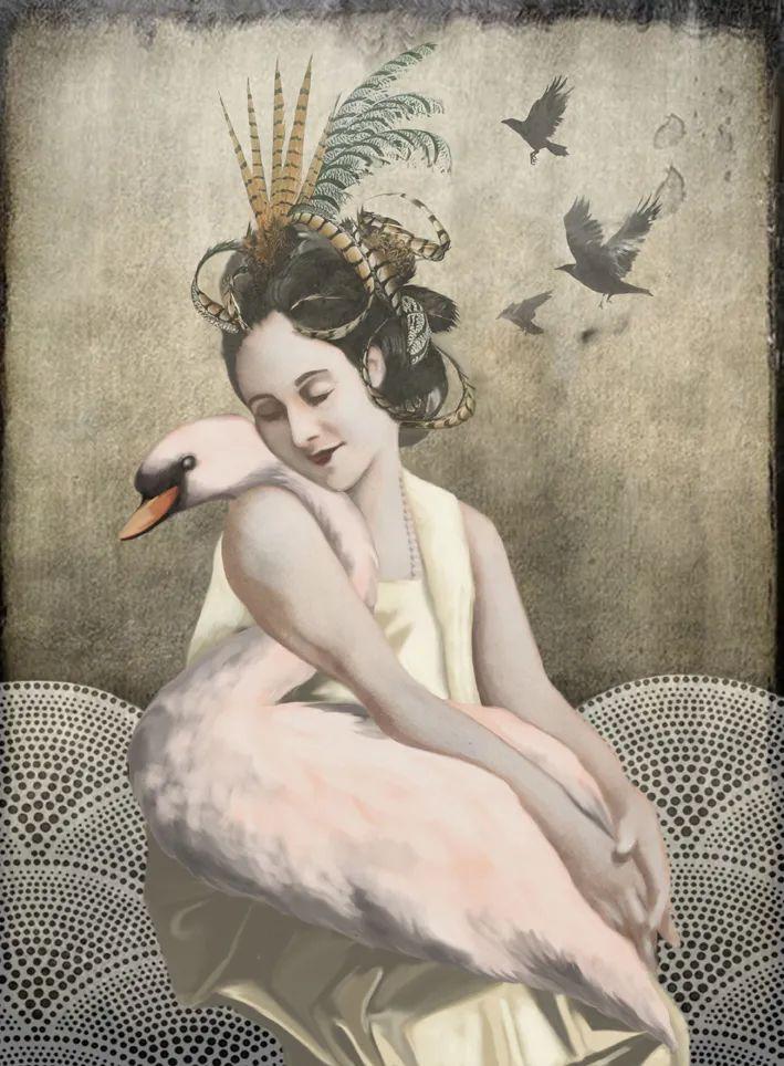 超现实的、空灵的女性形象插图89