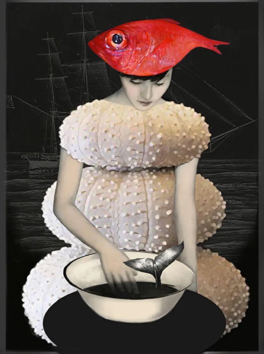 超现实的、空灵的女性形象插图91