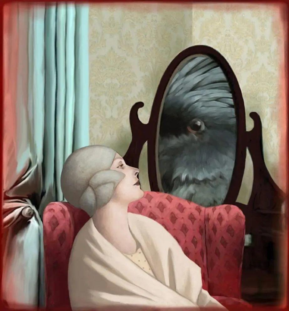 超现实的、空灵的女性形象插图93