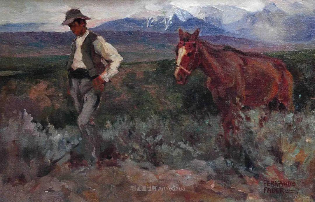 后印象派画家——费尔南多·费德插图89