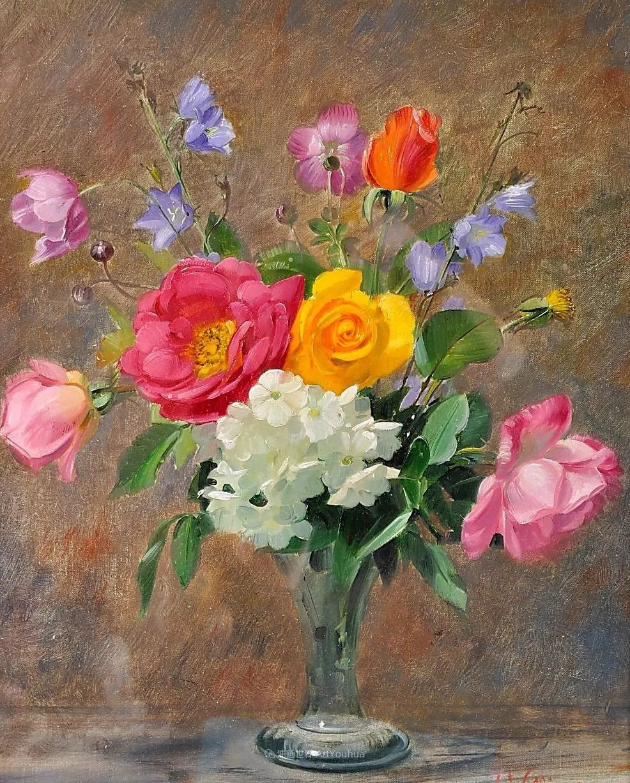 他放弃了古典风格,以更自然、个性化的风格绘画现代花卉!插图1