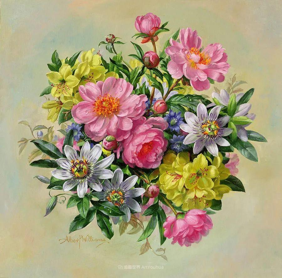 他放弃了古典风格,以更自然、个性化的风格绘画现代花卉!插图3