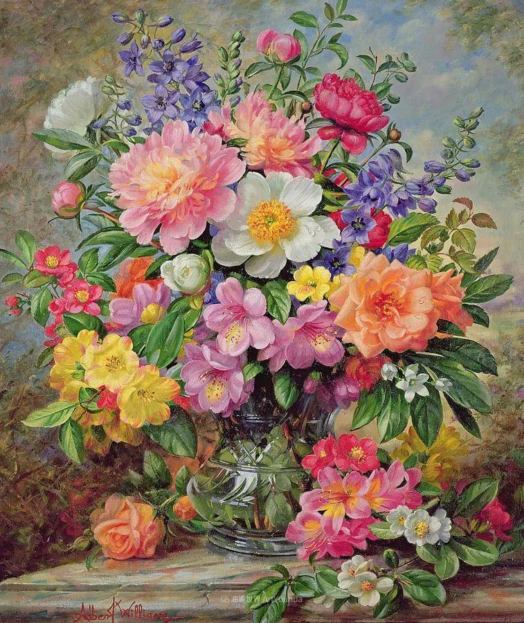 他放弃了古典风格,以更自然、个性化的风格绘画现代花卉!插图5