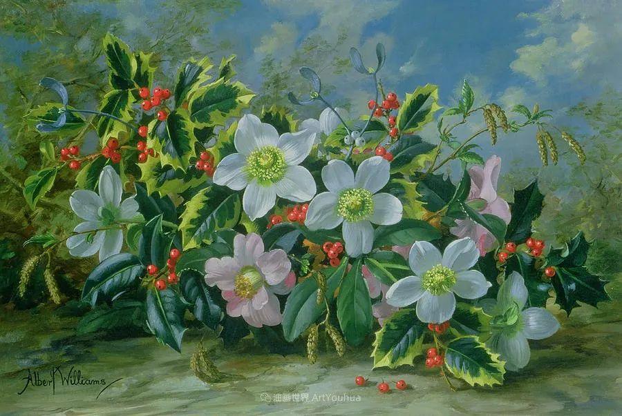 他放弃了古典风格,以更自然、个性化的风格绘画现代花卉!插图11