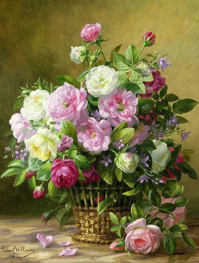 他放弃了古典风格,以更自然、个性化的风格绘画现代花卉!插图19