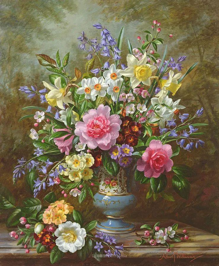 他放弃了古典风格,以更自然、个性化的风格绘画现代花卉!插图29