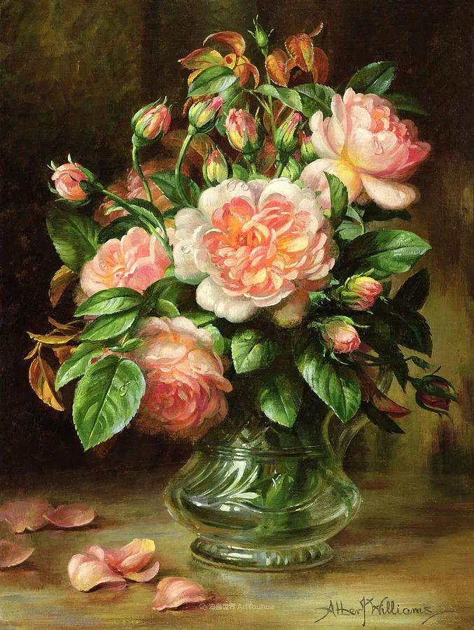 他放弃了古典风格,以更自然、个性化的风格绘画现代花卉!插图31