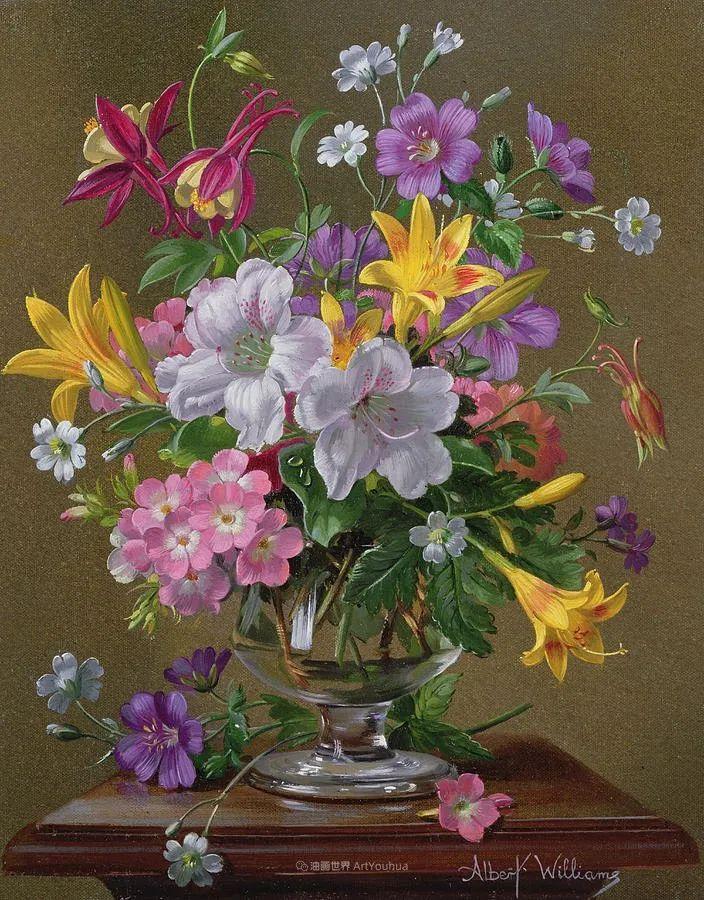 他放弃了古典风格,以更自然、个性化的风格绘画现代花卉!插图43