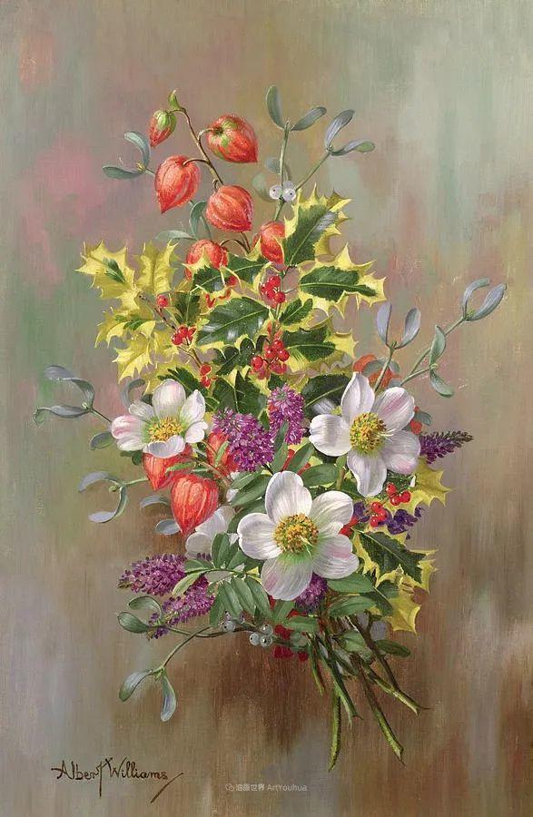 他放弃了古典风格,以更自然、个性化的风格绘画现代花卉!插图47
