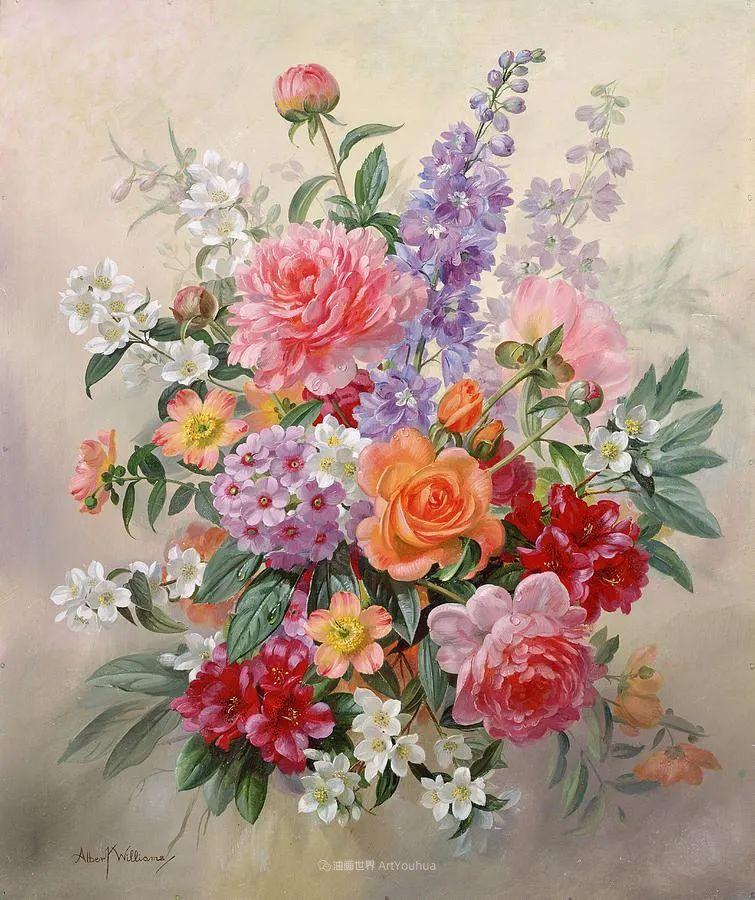 他放弃了古典风格,以更自然、个性化的风格绘画现代花卉!插图51