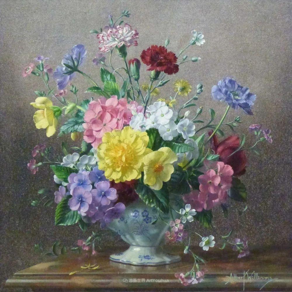 他放弃了古典风格,以更自然、个性化的风格绘画现代花卉!插图53