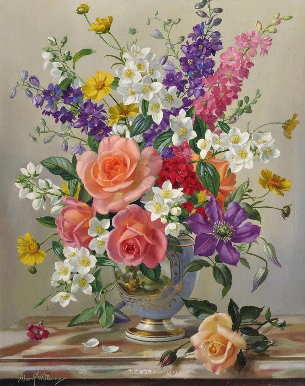 他放弃了古典风格,以更自然、个性化的风格绘画现代花卉!插图55