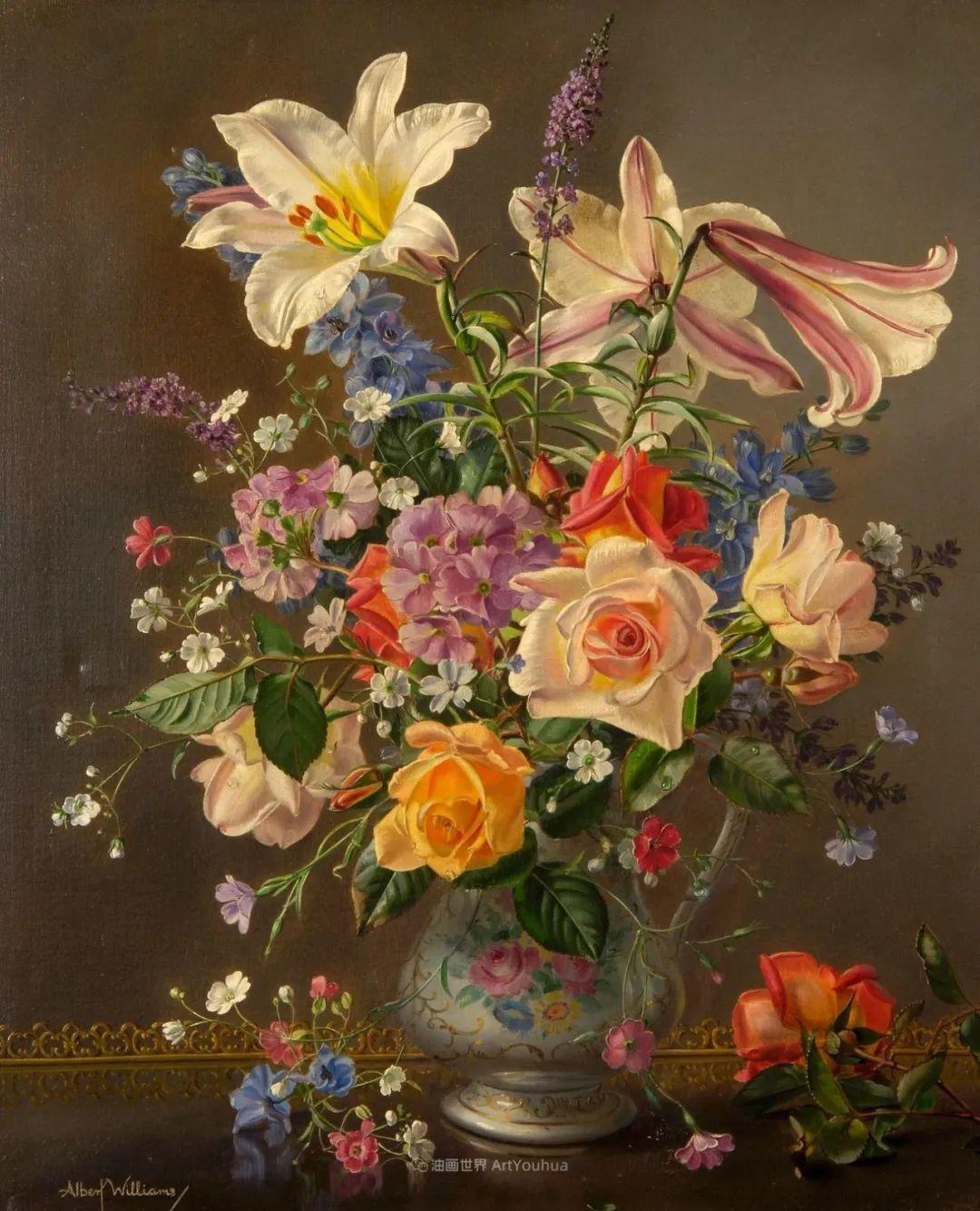 他放弃了古典风格,以更自然、个性化的风格绘画现代花卉!插图57