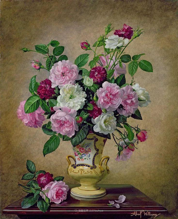 他放弃了古典风格,以更自然、个性化的风格绘画现代花卉!插图61
