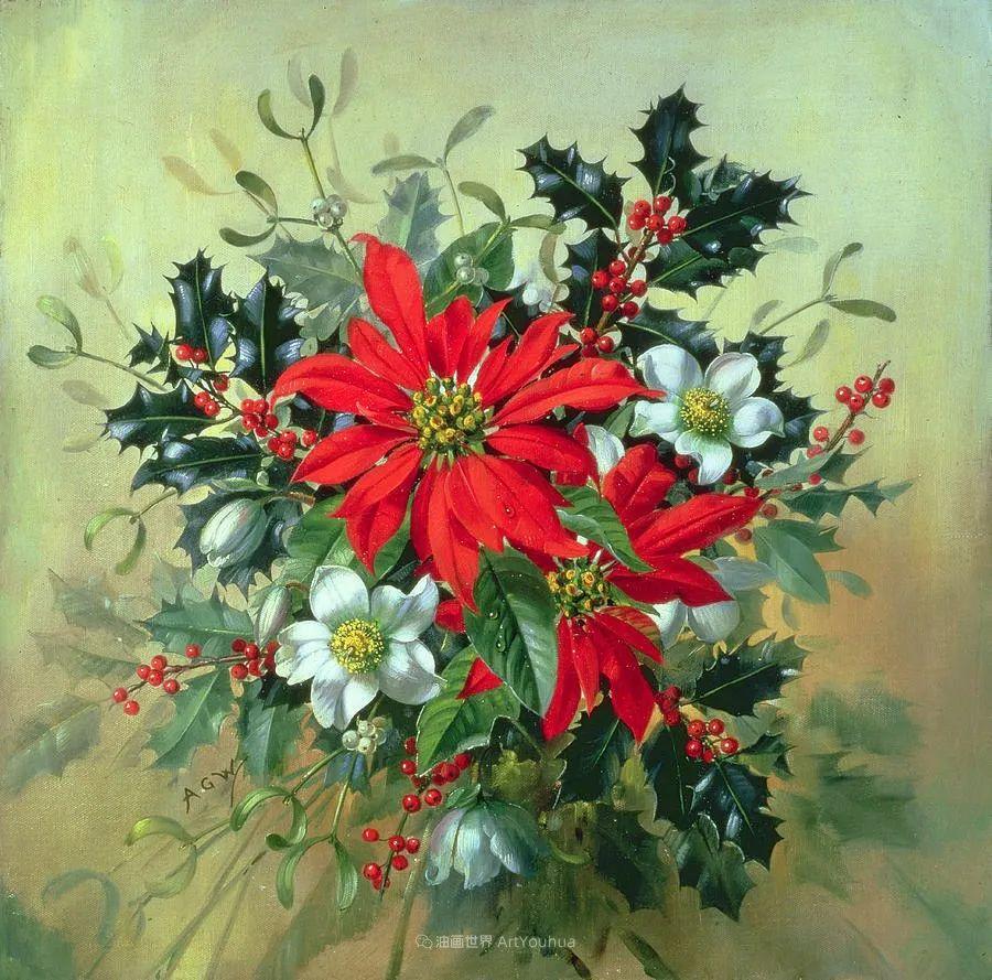他放弃了古典风格,以更自然、个性化的风格绘画现代花卉!插图67