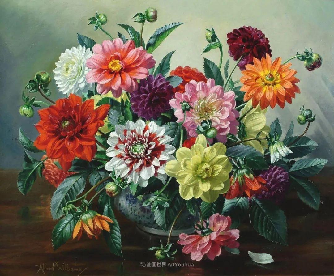 他放弃了古典风格,以更自然、个性化的风格绘画现代花卉!插图69