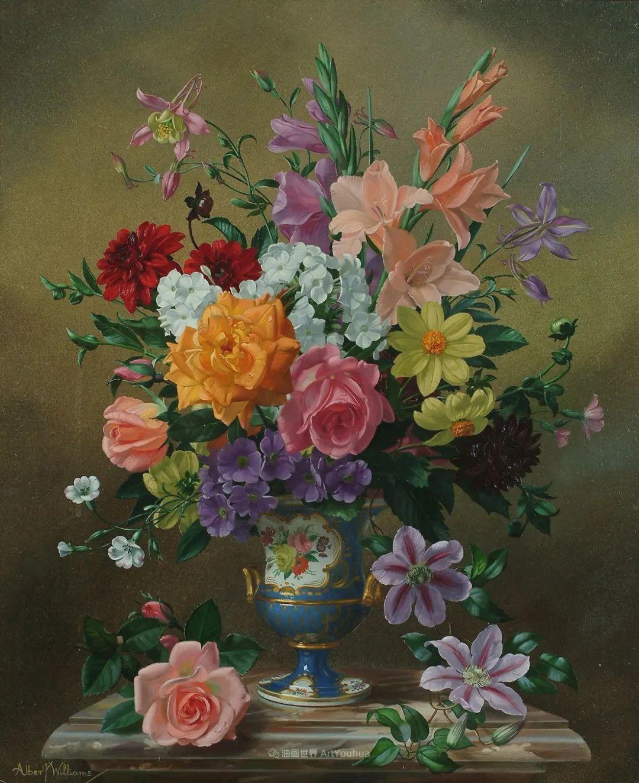 他放弃了古典风格,以更自然、个性化的风格绘画现代花卉!插图75