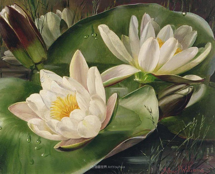 他放弃了古典风格,以更自然、个性化的风格绘画现代花卉!插图83