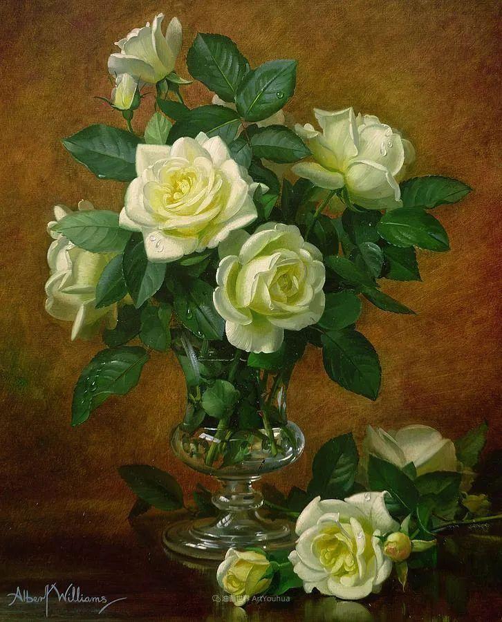 他放弃了古典风格,以更自然、个性化的风格绘画现代花卉!插图89