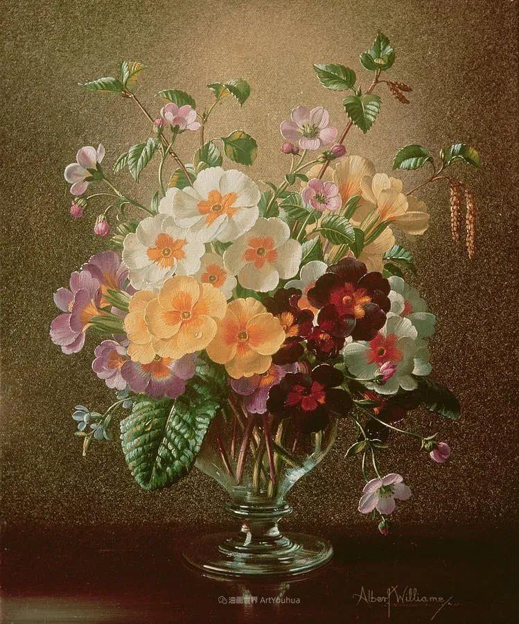 他放弃了古典风格,以更自然、个性化的风格绘画现代花卉!插图97
