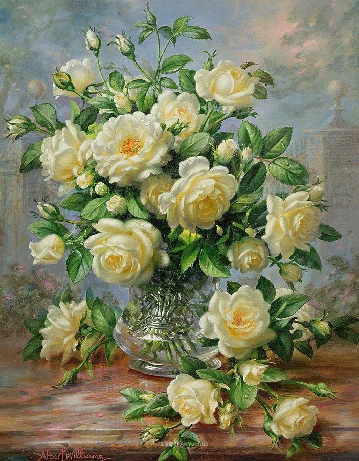 他放弃了古典风格,以更自然、个性化的风格绘画现代花卉!插图99