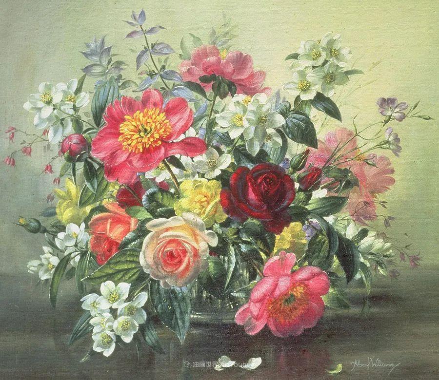 他放弃了古典风格,以更自然、个性化的风格绘画现代花卉!插图117