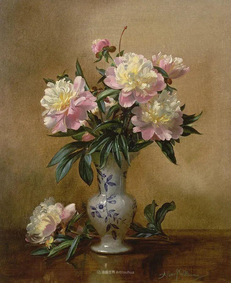 他放弃了古典风格,以更自然、个性化的风格绘画现代花卉!插图123