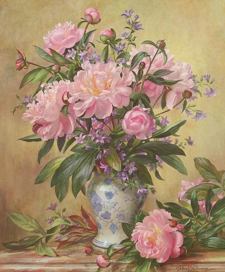 他放弃了古典风格,以更自然、个性化的风格绘画现代花卉!插图139