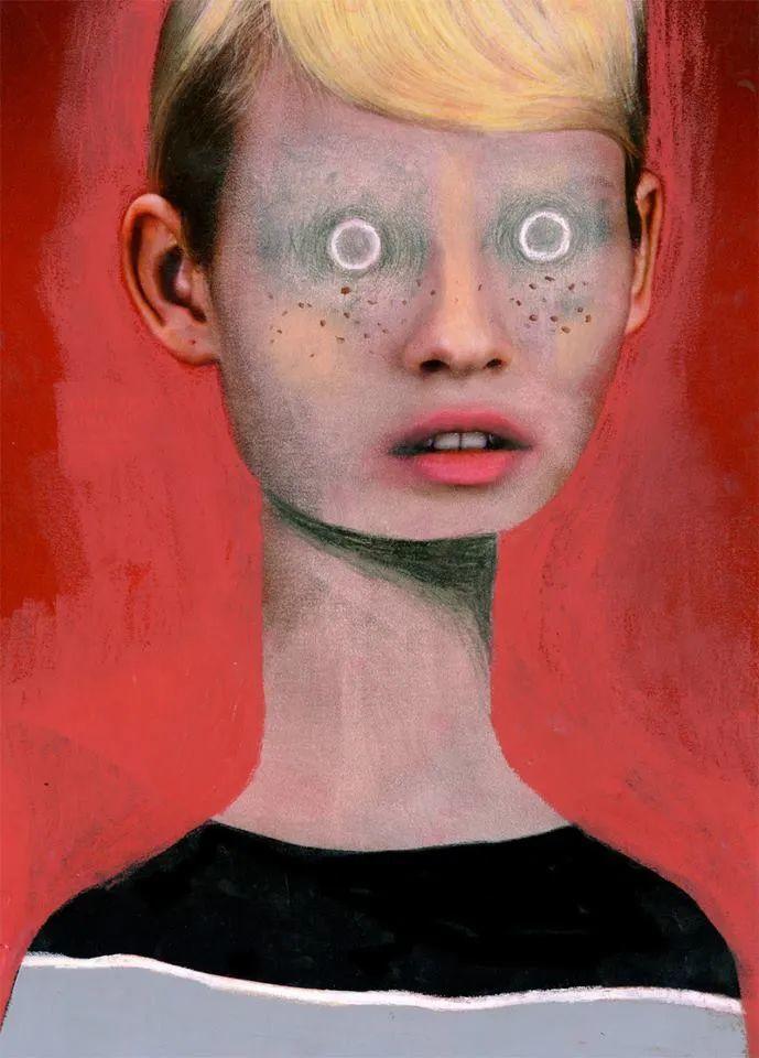 令人震惊的、美丽而奇异的肖像插图1