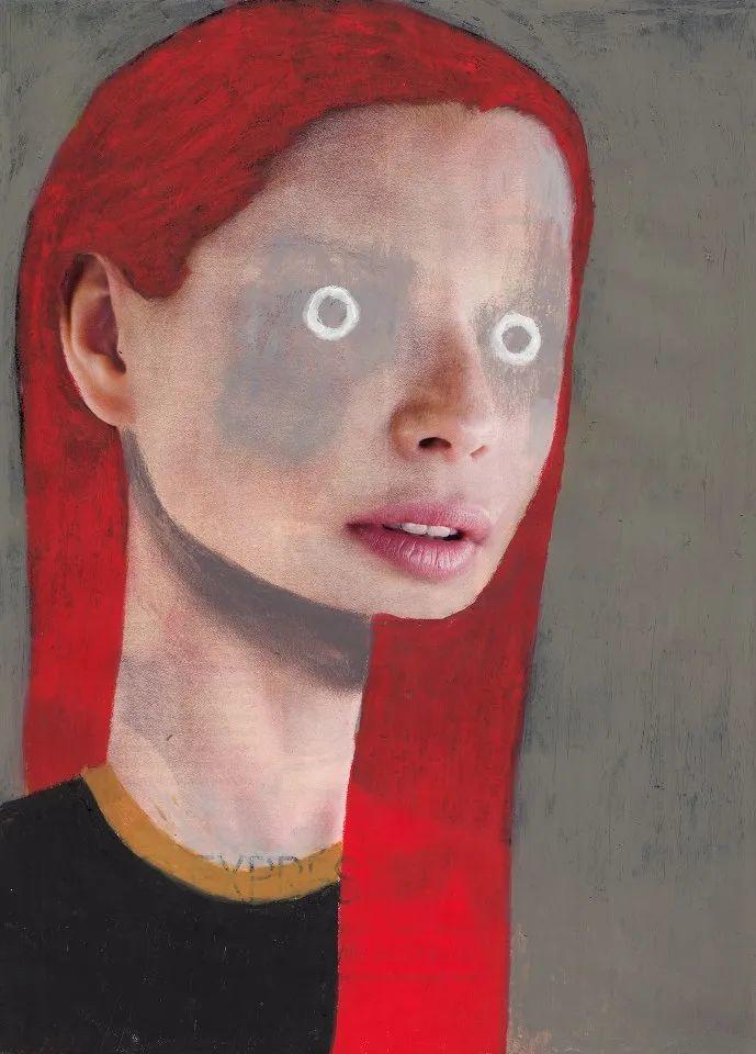 令人震惊的、美丽而奇异的肖像插图5