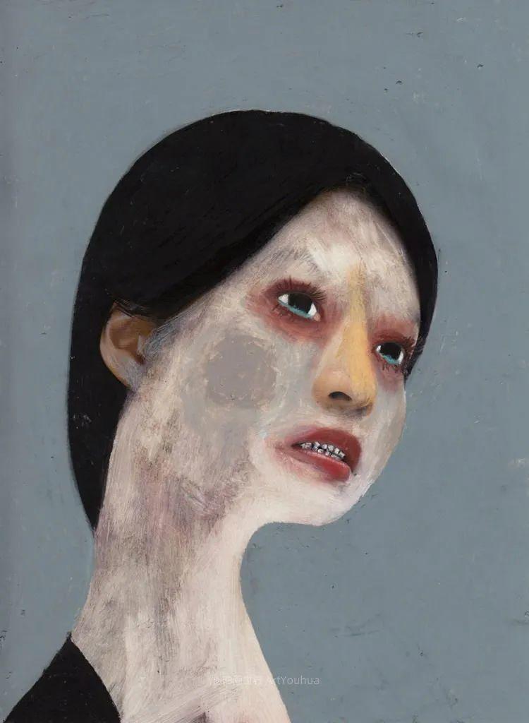 令人震惊的、美丽而奇异的肖像插图11