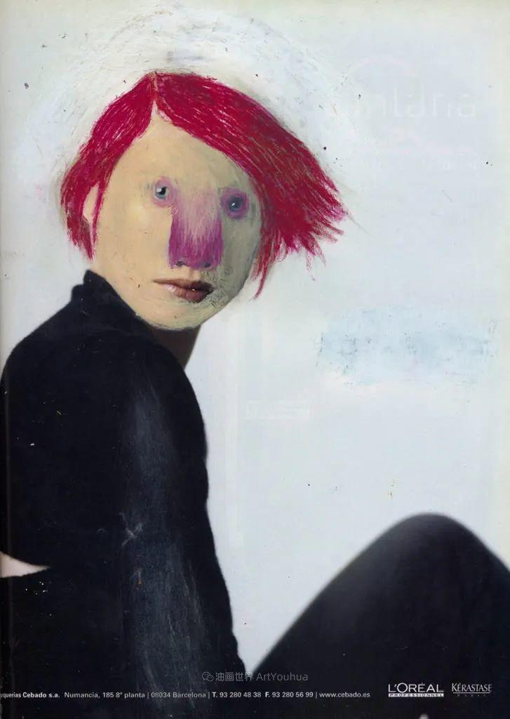 令人震惊的、美丽而奇异的肖像插图17