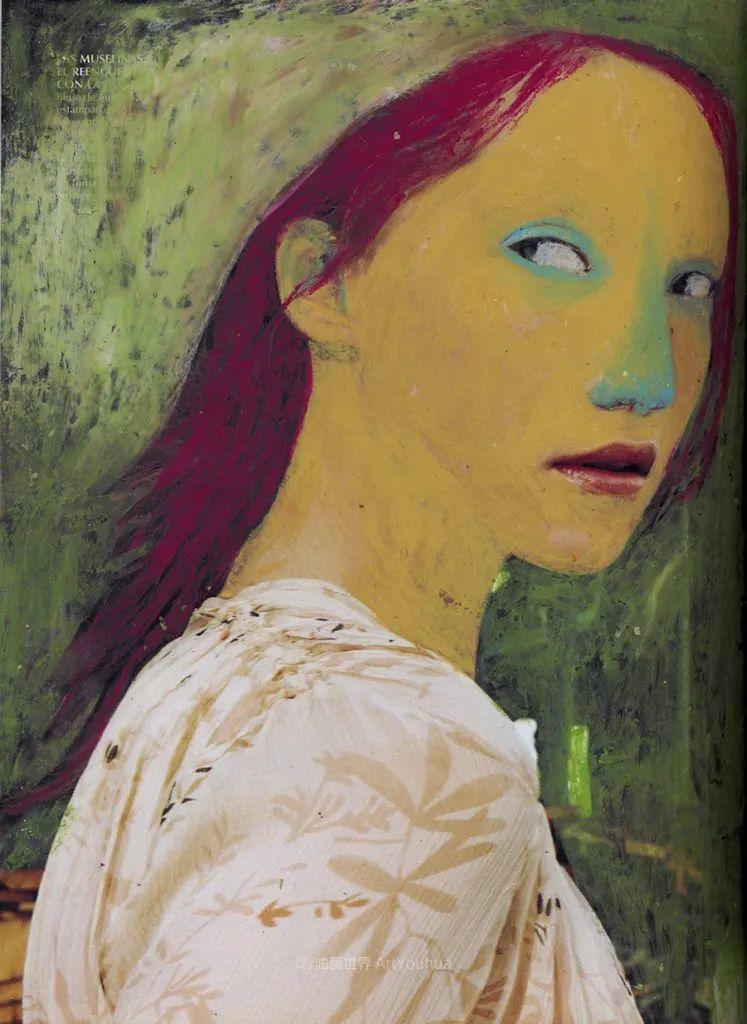 令人震惊的、美丽而奇异的肖像插图19