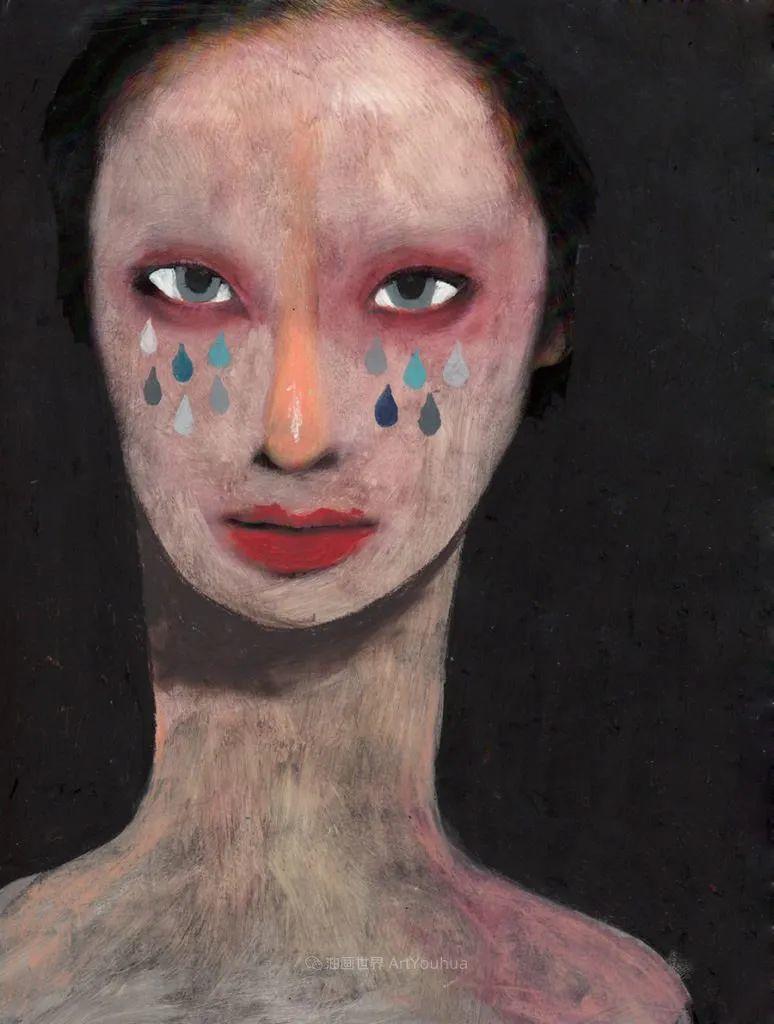 令人震惊的、美丽而奇异的肖像插图21