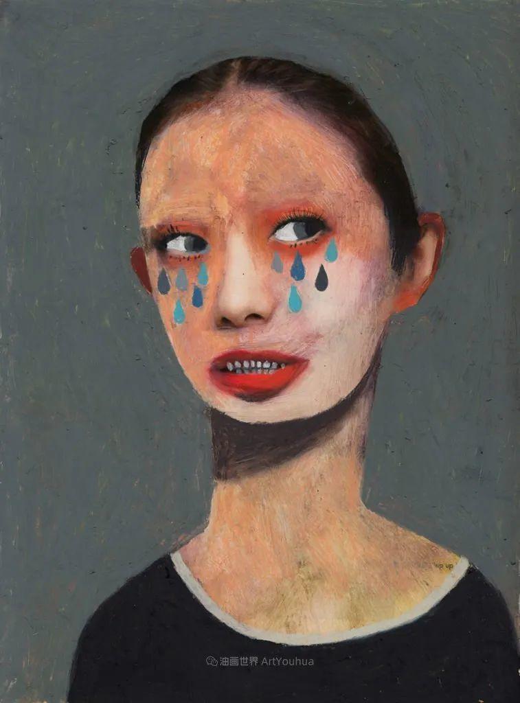 令人震惊的、美丽而奇异的肖像插图23