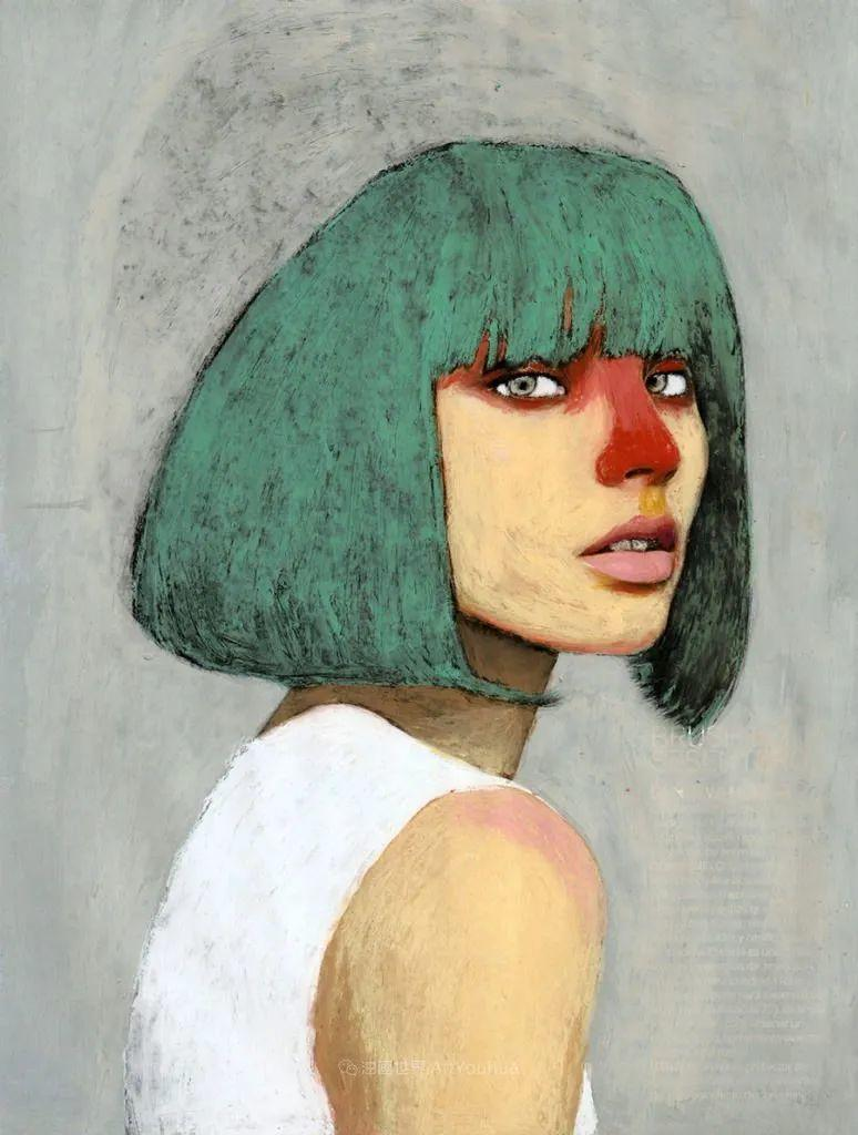 令人震惊的、美丽而奇异的肖像插图25