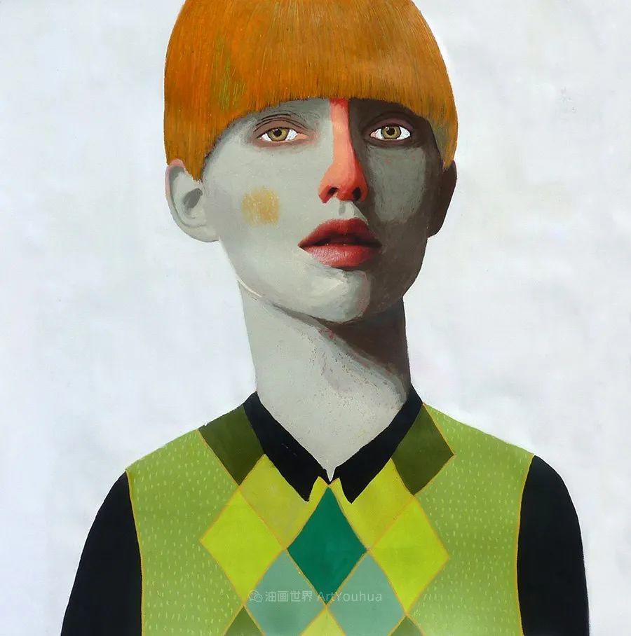 令人震惊的、美丽而奇异的肖像插图41