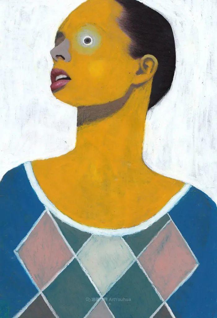 令人震惊的、美丽而奇异的肖像插图45