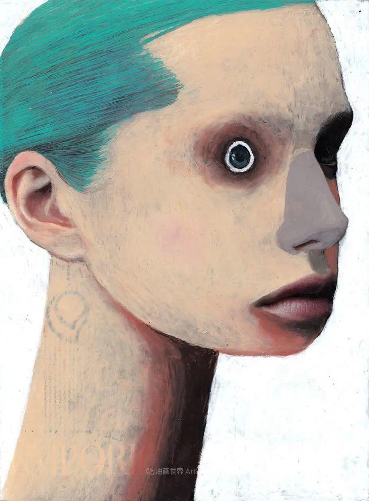 令人震惊的、美丽而奇异的肖像插图47