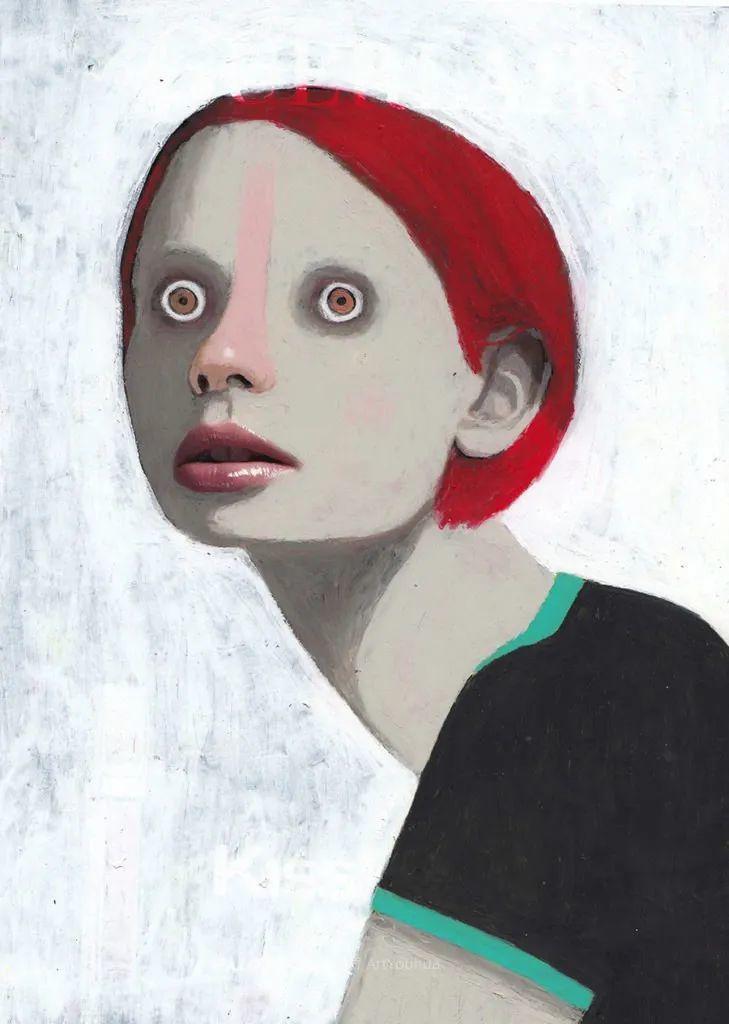 令人震惊的、美丽而奇异的肖像插图49