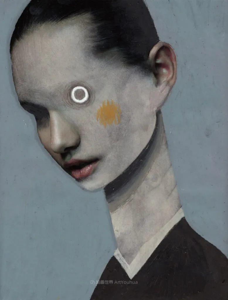令人震惊的、美丽而奇异的肖像插图51