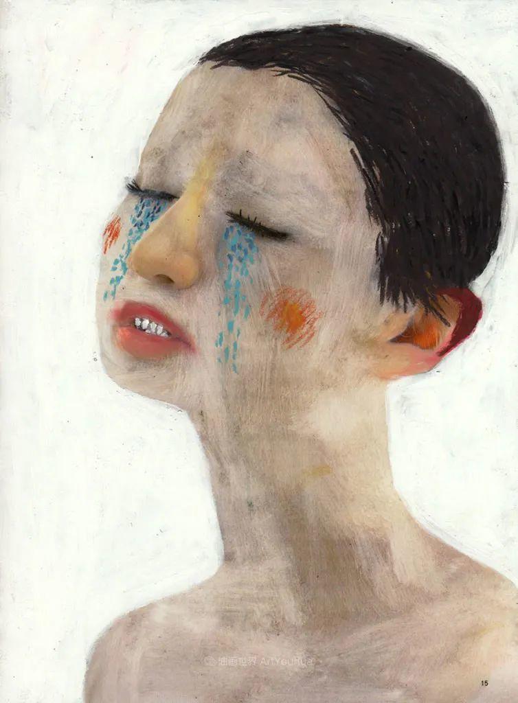 令人震惊的、美丽而奇异的肖像插图55