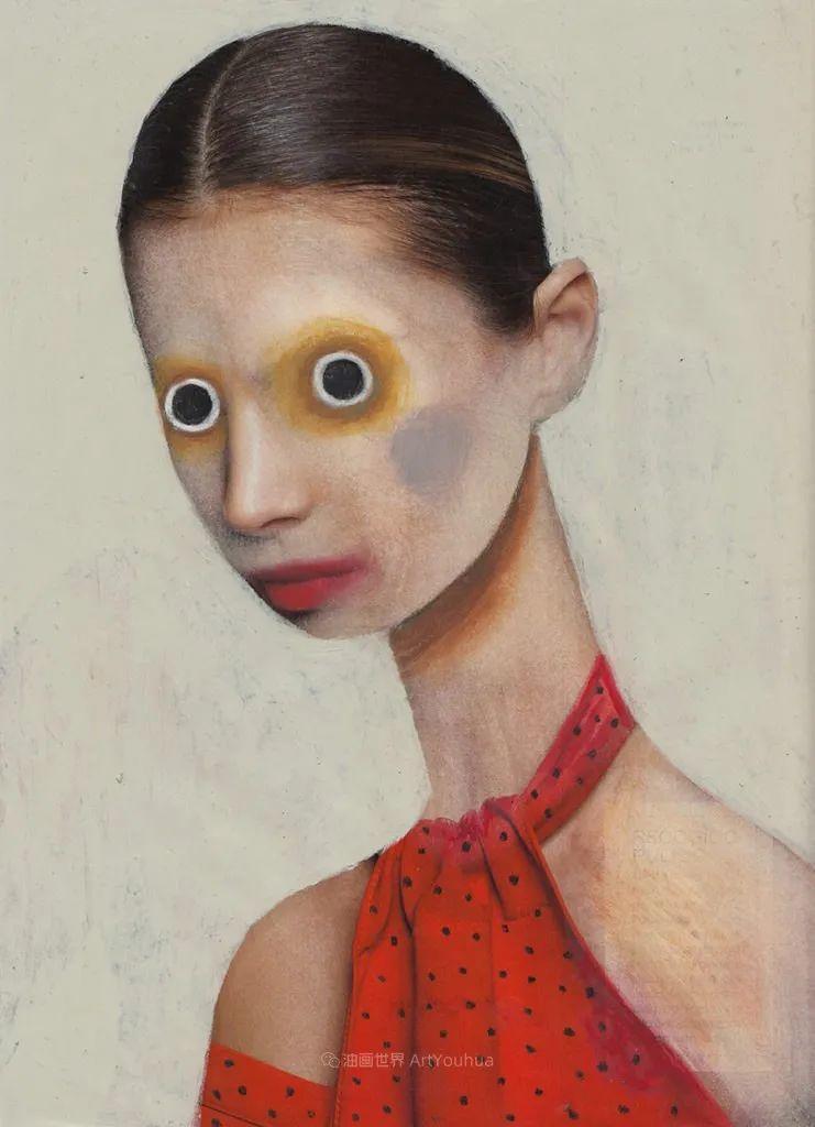 令人震惊的、美丽而奇异的肖像插图63