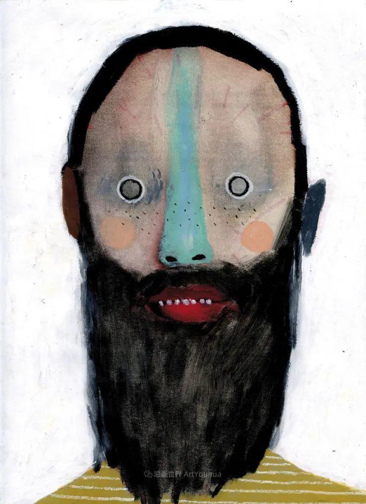 令人震惊的、美丽而奇异的肖像插图65