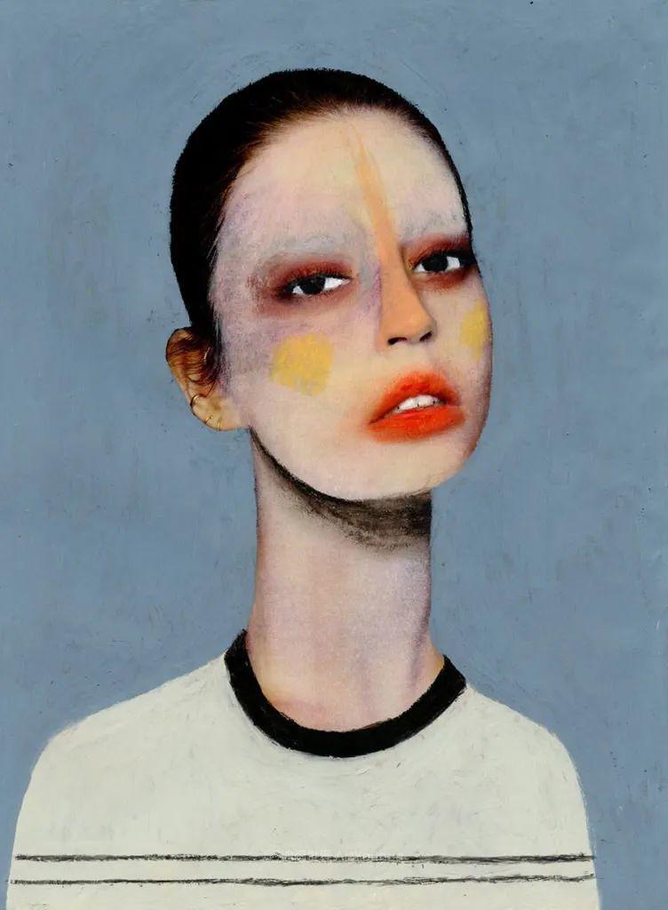 令人震惊的、美丽而奇异的肖像插图67