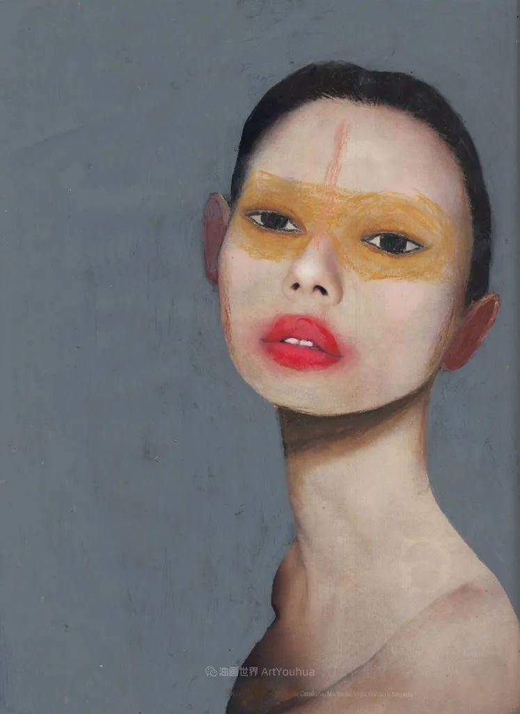 令人震惊的、美丽而奇异的肖像插图71